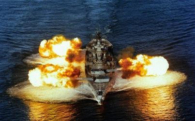 Los barcos de guerra no los fabrica gente pacifista.